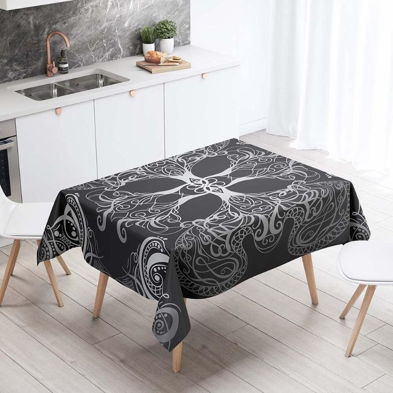 Настольная ткань прямоугольные скатерти декоративные чехол для кухни 3D печать таро карты столовая