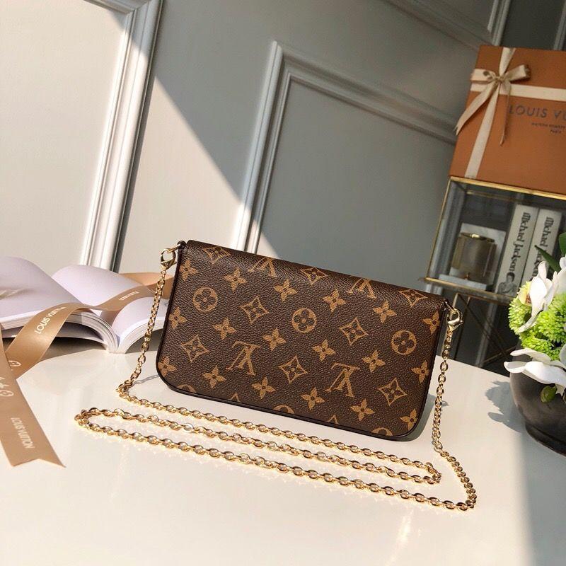 2020 nuove borse a spalla della catena di modo del cuoio genuino borsa presbiti mini supporto Portafogli mobile della carta 21/11/2 cm foto reale