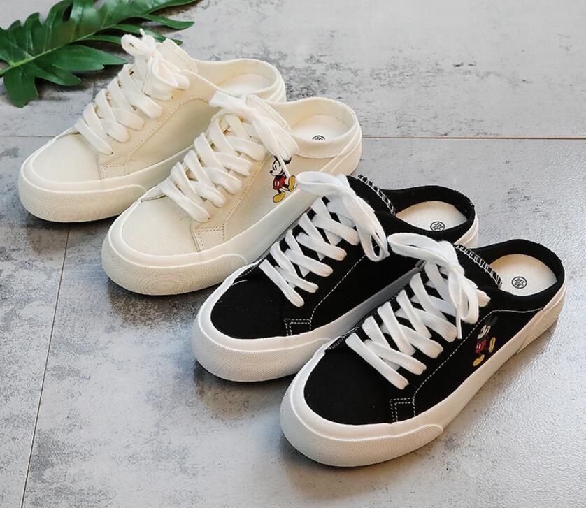 Meilleures ventes New Summer Cute Girl Student Polyvalent Conseil Chaussures Tendance Meilleures ventes Taille de 35-40cm
