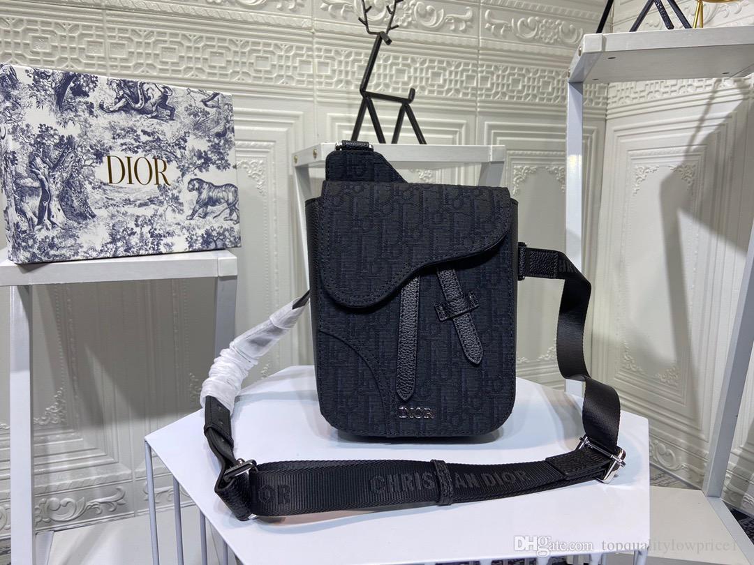 2020 Hot meilleur sac design de qualité sac message femmes de luxe véritable sac à main en cuir design Hommes marque sac à dos 16-21-5cm 01