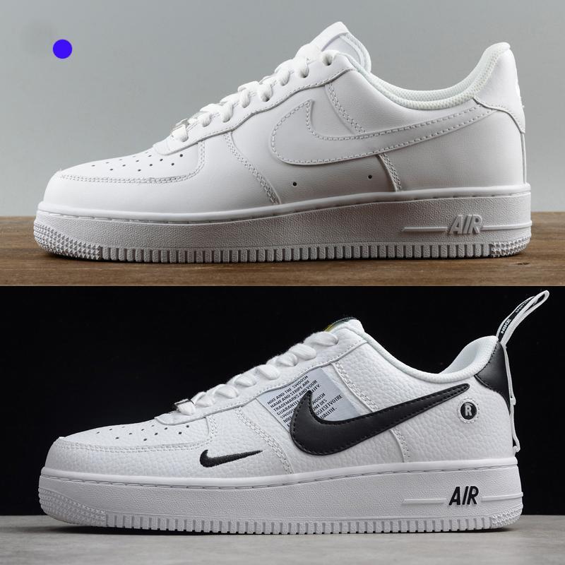 Zapatillas de deporte superiores de diseño para mujeres hombres ce 1 bajo una alta chaussures 07 AF1 formadores de moda fuerzas de skate zapatos venta barata