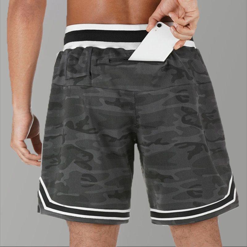 Camouflage Mens Shorts 2020 Jogger Summer Bodybuilding Basketball Shorts Gym Running Sport Workout Camo Shorts Men Quick Dry MX200815