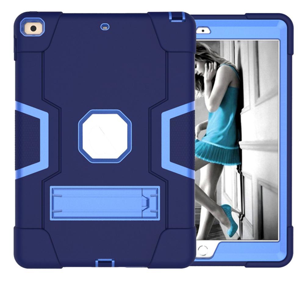 Couverture d'étui de silicium de défenseur de la défenseur foruscule militaire extrême pour iPad 10.2 AIR4 10.9 iPad8 2020 2019 T290 T510 mini45 AIR 9.7 10.5