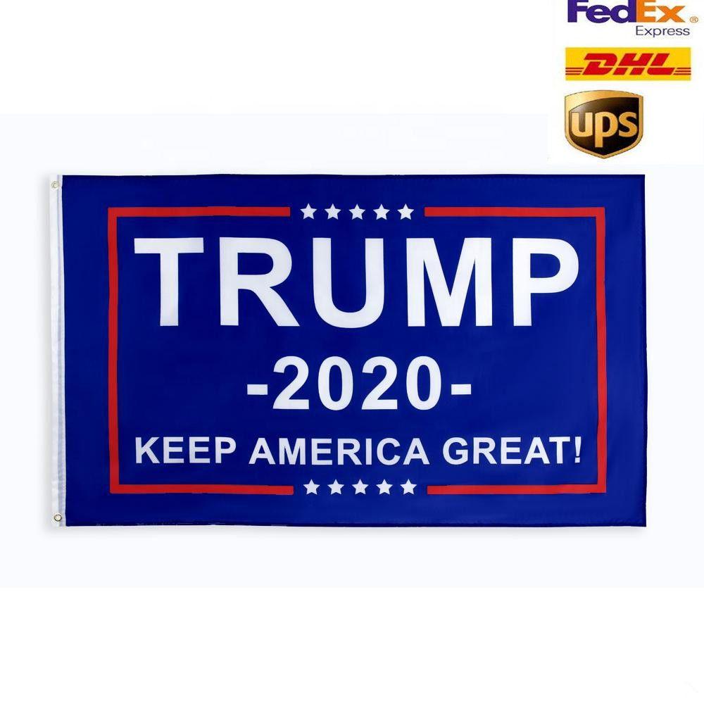 10 Entwürfe direkt ab Werk 3x5 Ft 90 * 150 cm halten Amerika groß Donald Trump Flags Für das Jahr 2020 Präsident USA Election