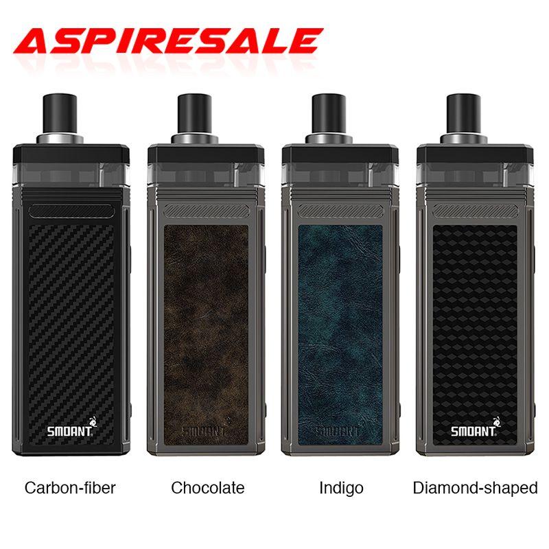 Authentic Smoant Pasito II Pod Vape Kit 6ml Pod Cartridge 2500mAh Battery TC Mod 80W Pasito 2 Electronic Cigarette Vaporizer