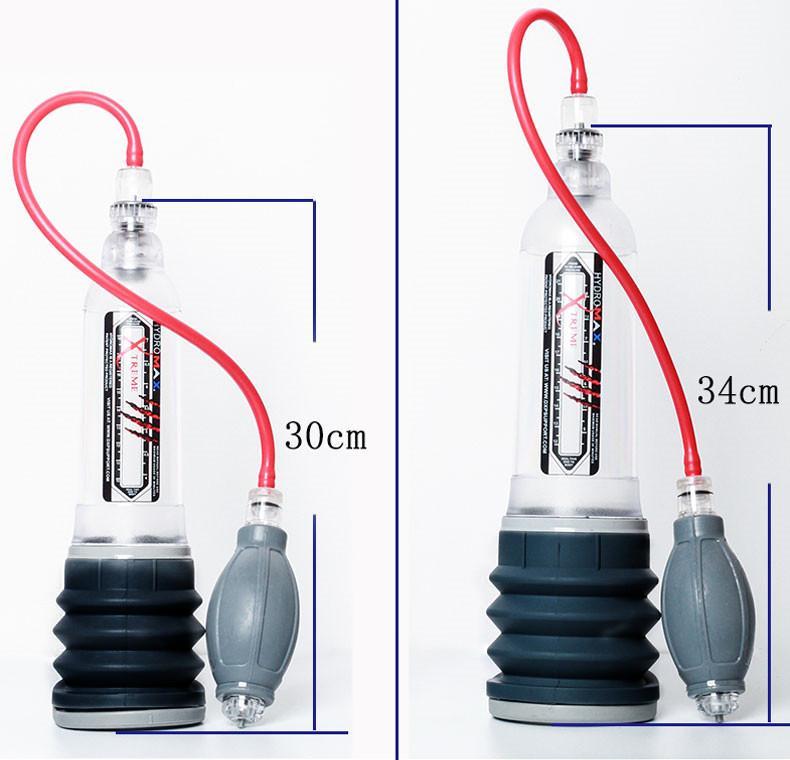 Hydromax X30 x40 Extreme Big Spa Penis Pump Penis Ingrandimento Pene allungamento Adulto Forniture per adulti Giocattolo maschile per uomo