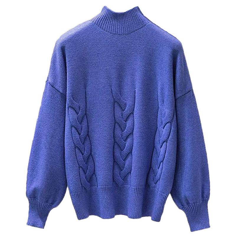 Ay1045 2020 Frühling Herbst Winter neue Frauen Art und Weise beiläufige warme schön Pullover Frau weiblich Rollkragenpullover