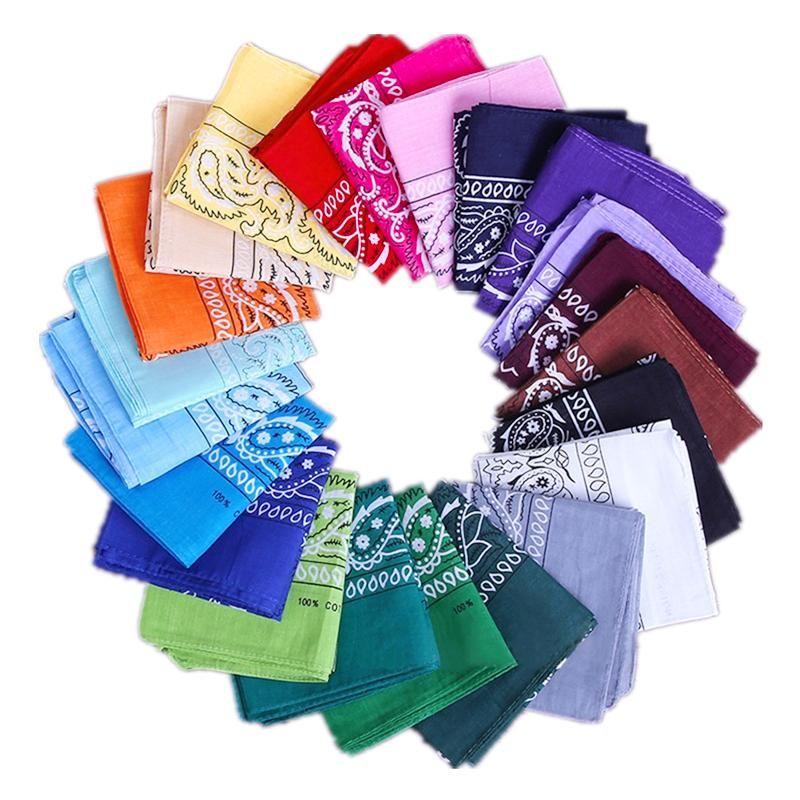 Paisley design stylish magic ride magic anti-UV bandana headband Towel hip-hop multifunctional bandana Outdoor Head scarf Free DHC829