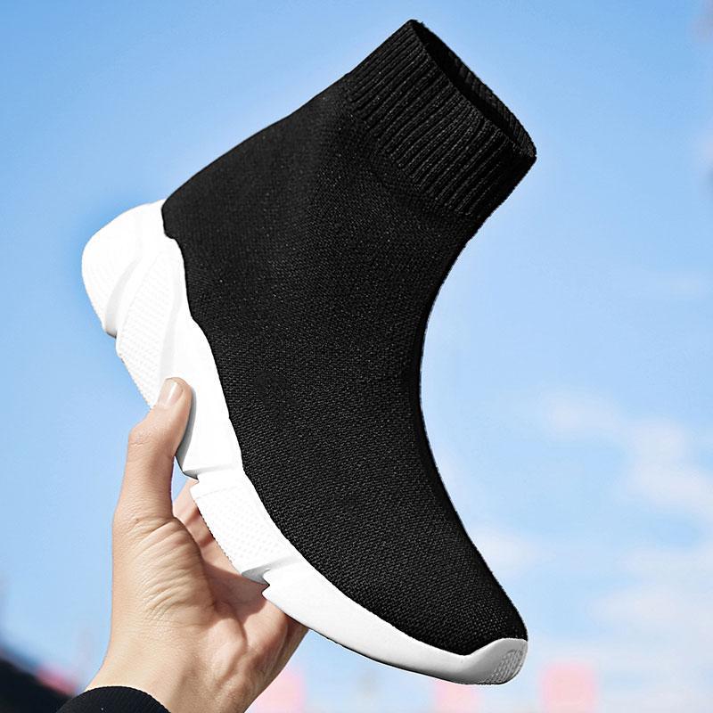 Wandern und Camping Socken Kasten Schuhe Ankle Boot Breathable Frauen-Plattform weiche Sohle Camping Socken Schuhe Outdoor-Schuhe
