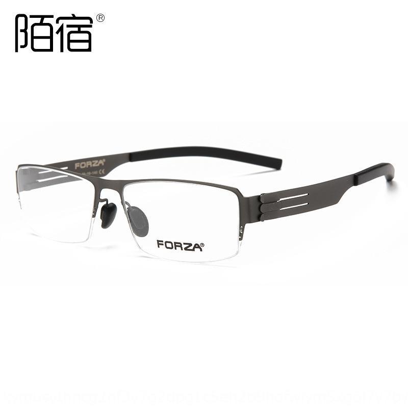 C02 miopía alta calidad Miopía Gafas de ultra resorte de aleación de pierna medio gafas de negocio marco completo de acero ligero marco 2020