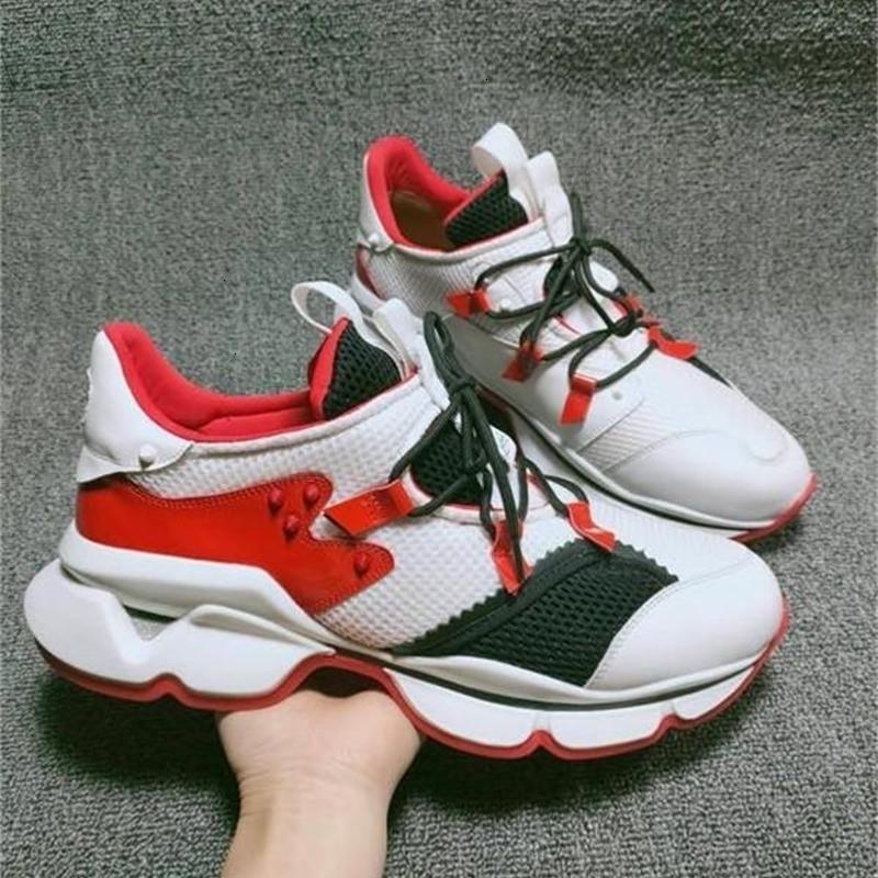 plataforma Red Pico Womens Sock Homens sapatilhas 20s borracha instrutor Arena Shoes formadores planas