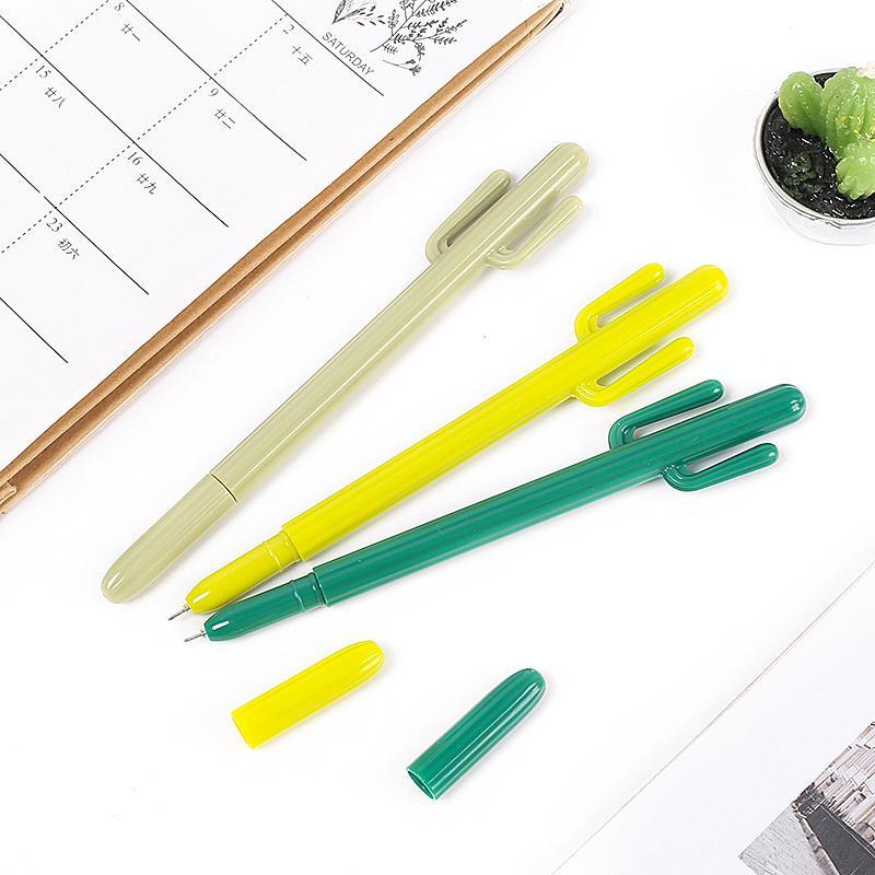 1pcs Plantes Cartoon surligneur unique Tête d'écriture surligneur japonais Papeterie Bureau Fournitures scolaires Mignon