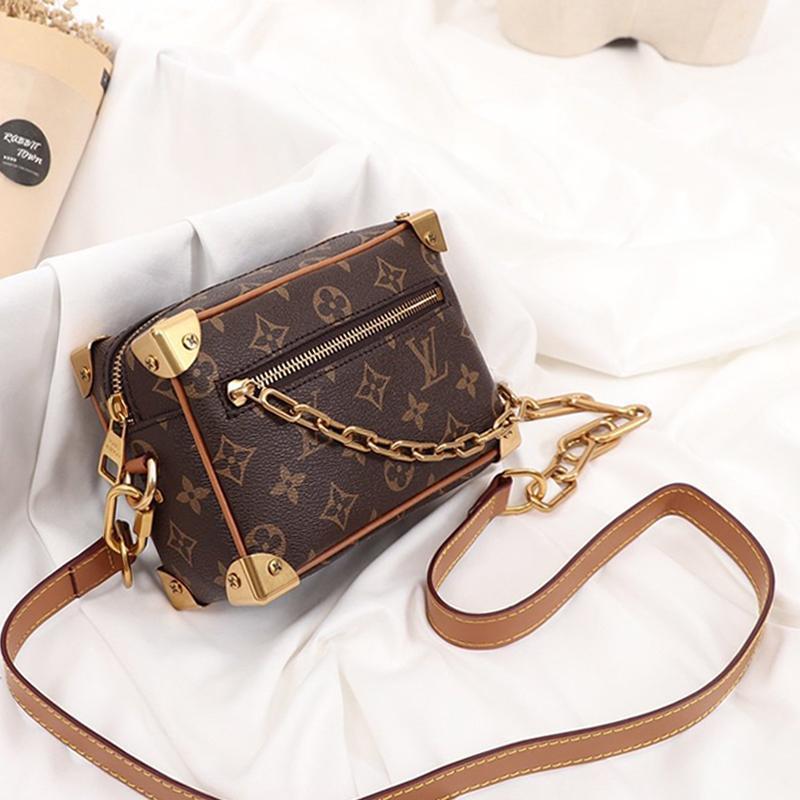L'alta qualità delle donne borsa vintage Shaspet a tracolla in pelle a tracolla donna retrò Designer borse a spalla Flap di lusso Mini Messenger Bags