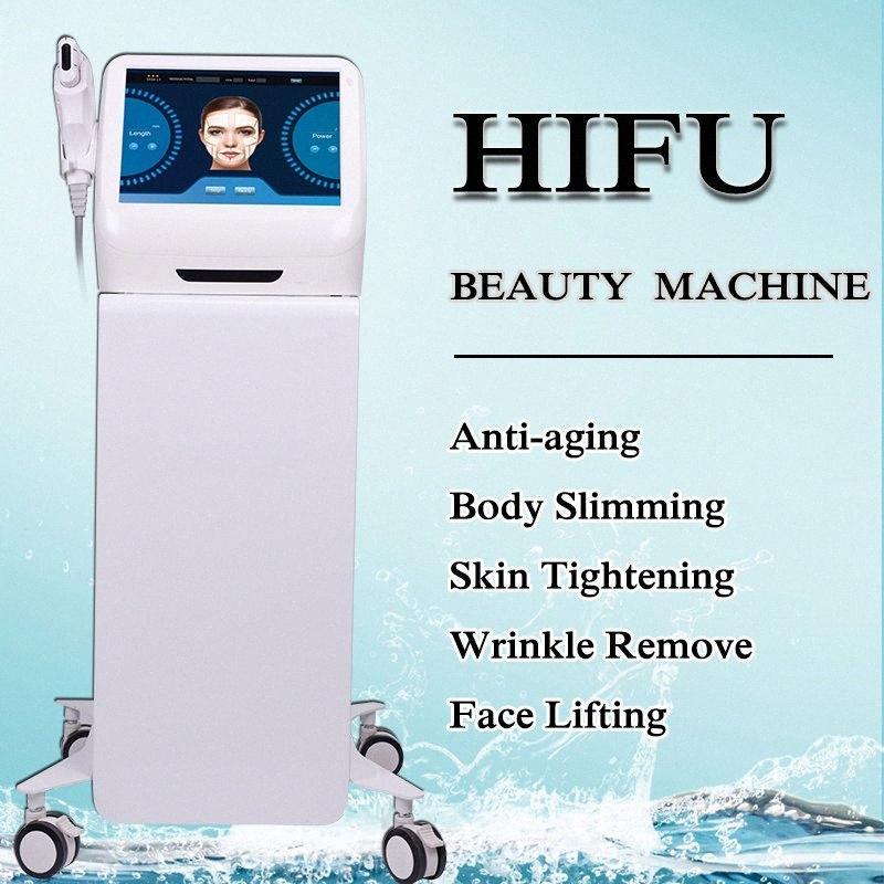 HIFU focalisés de haute intensité Ultrason Anti vieillissement rides enlèvement HIFU lifting visage machine HIFU Forme du corps machine Accueil Utilisation Salon Sup GqCW #