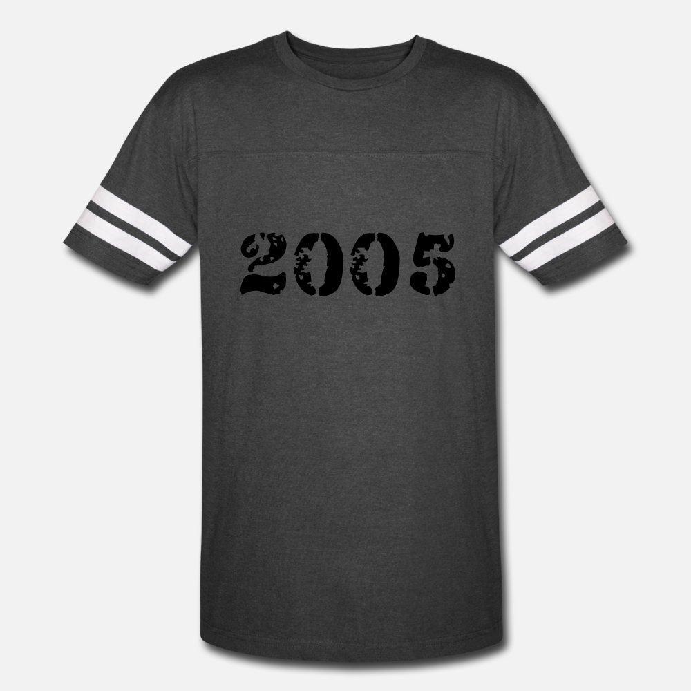 camisa de 2005 hombres de la camiseta de algodón Diseño S-3XL carta de regalo nuevo estilo del resorte del ocio