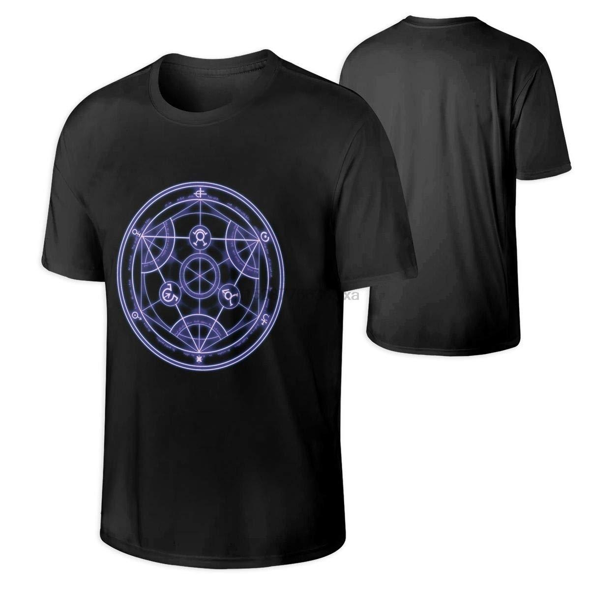 Camicie Fullmetal Alchemist Mens Anime T