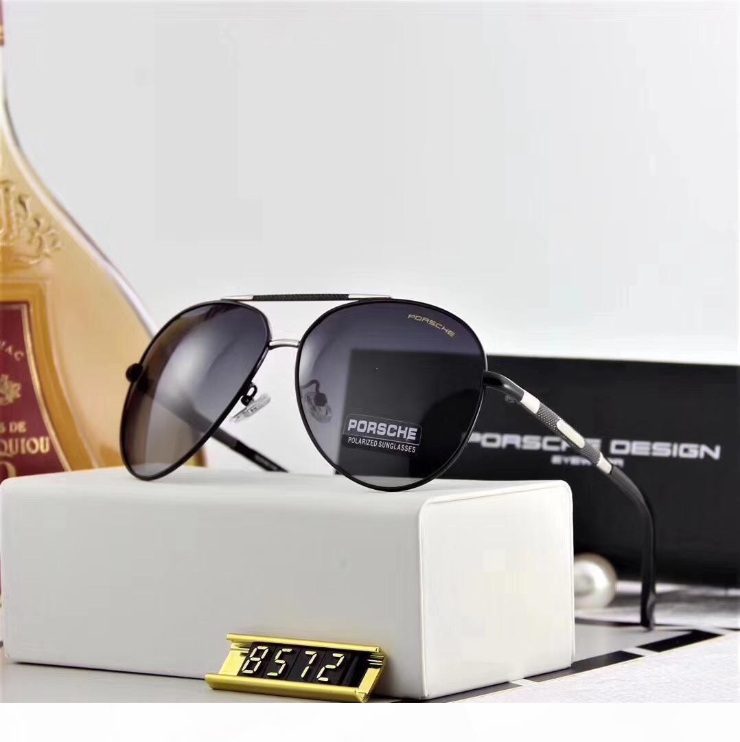 Freies Verschiffen-im Sommer 2018 der neuen polarisierenden metallischen Herren-Sonnenbrillen, polaroid, sind in Mode 8572