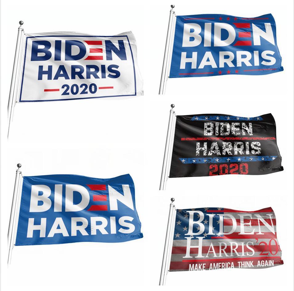 90 * 150cm 바이든 해리스 깃발 장식 배너 미국 대통령 선거는 미국 디지털 인쇄 플래그 정원 장식 LJJP400 매달려 공급