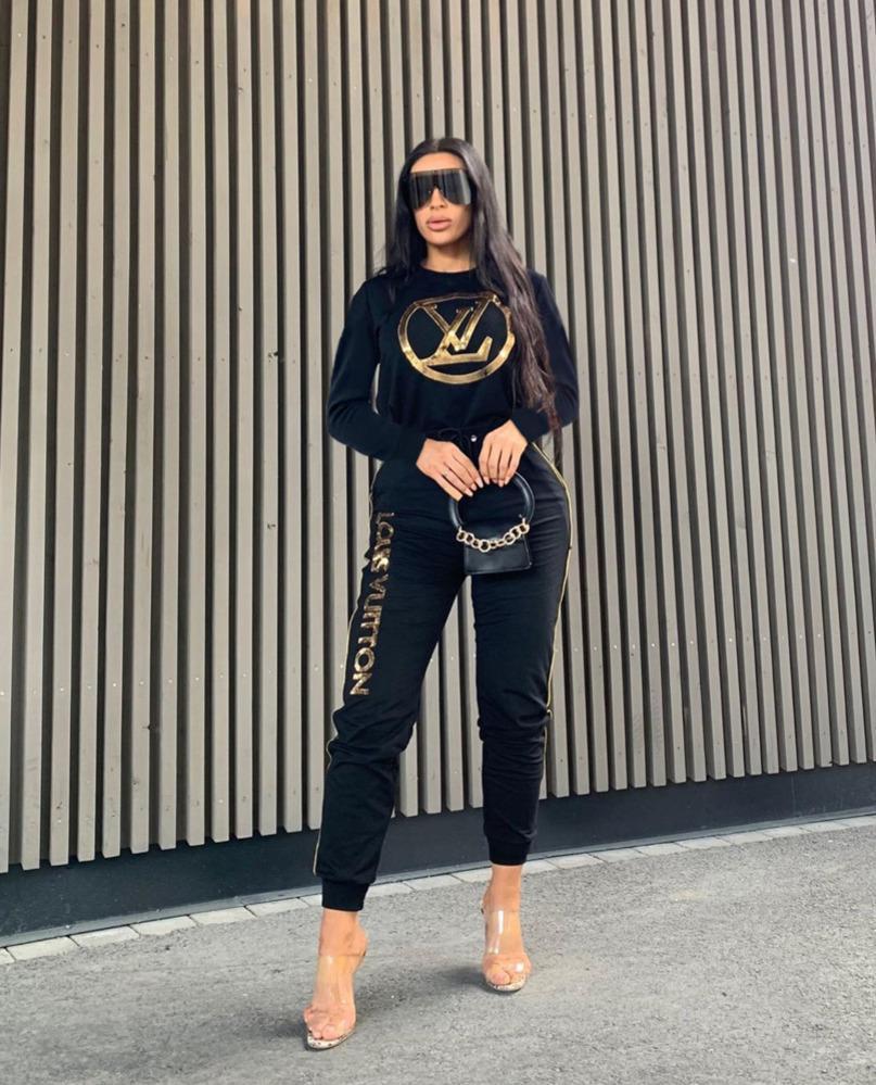 Новая мода Женщины Повседневная Спортивные костюмы Pollover молния куртка и штаны Двухкусочный Эпикировка Комплекты Спортивные костюмы Топы z6698