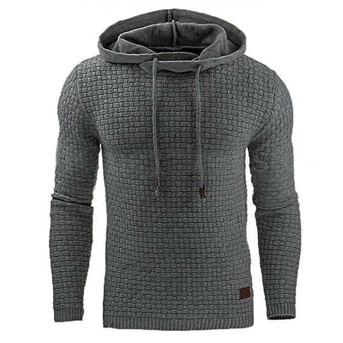 2020 New Hoodies Men Brand Male Solid Hooded Sweatshirt Mens Hoodie Tracksuit Sweat Coat Casual Sportswear M-4XL Drop Shipping CX200819