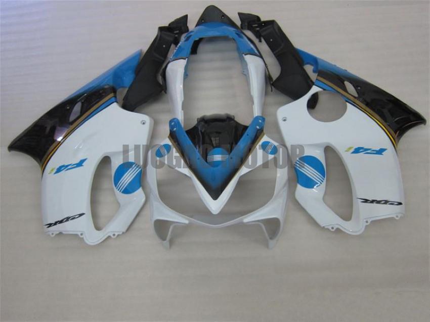 Инъекции обтекатели комплект + подарки для HONDA CBR600 F4i 2004 2005 2006 2007 CBR600 04 05 06 07 CBR600 F4i 04-07 корпуса крышки + ветровое # WHITE # U37ED