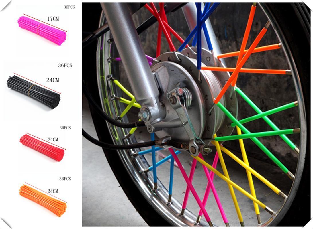 Kros motosiklet bisiklet çelik tel YZ250FX YZ450FX WR250 450 WR250F WR450F için kovan dekorasyon konuştu