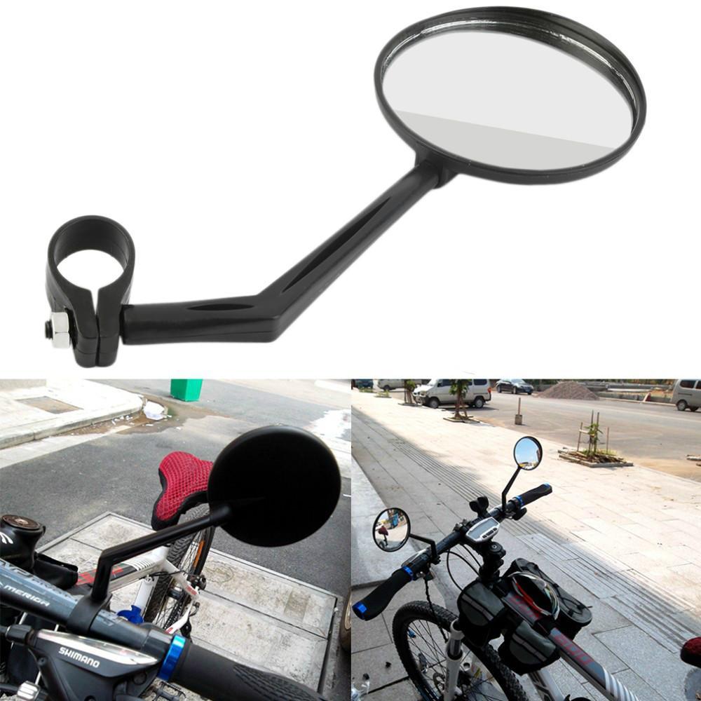 Girevole flessibile della bicicletta Specchio manubrio della bici retrovisore Cycling Torna View Mirror Light and Easy Install Bike Accessories NY077