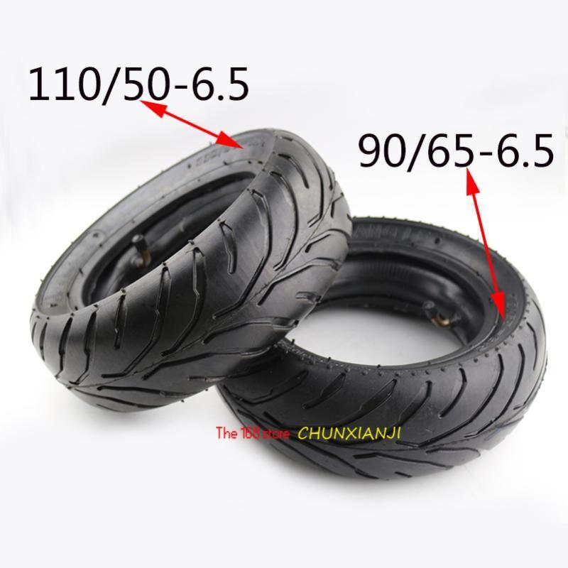 Roues de moto Pneus de bonne qualité 110/65-6.5or 90/65-6.5 Mini de pneu Accessoires 47CC / 49CC Petite voiture de sport de sport Tube intérieure