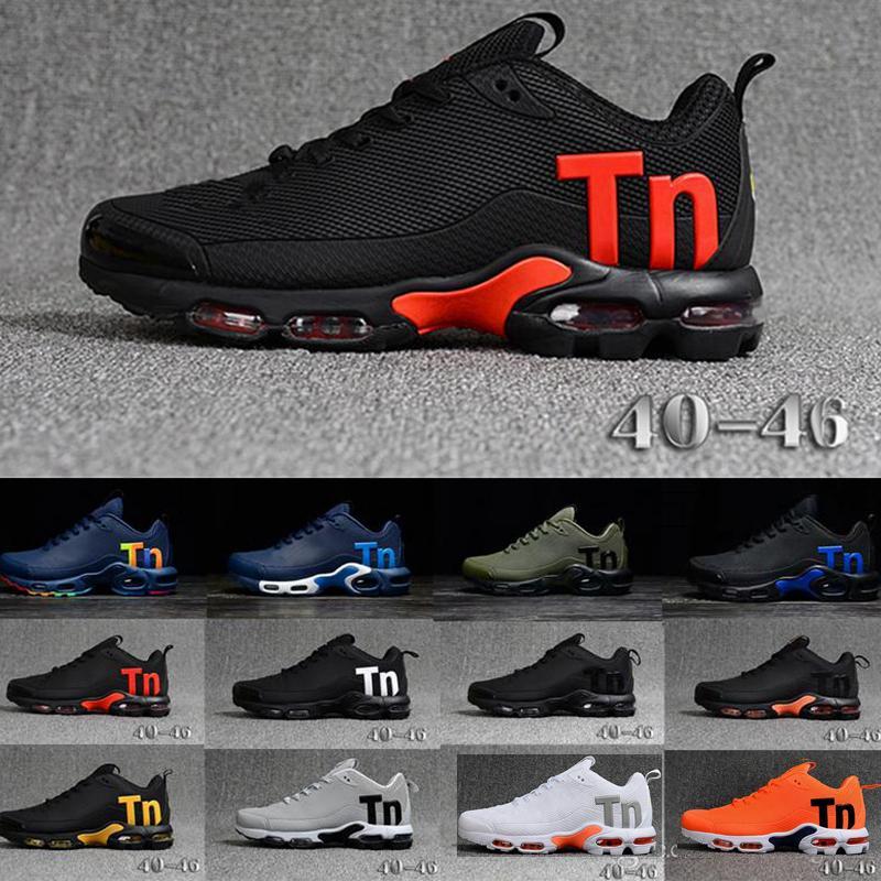 2020 TN PLUS кроссовки классические наружные туфли на открытом воздухе TN черный белый спортивный шок кроссовки мужчины реквина оливковое серебро