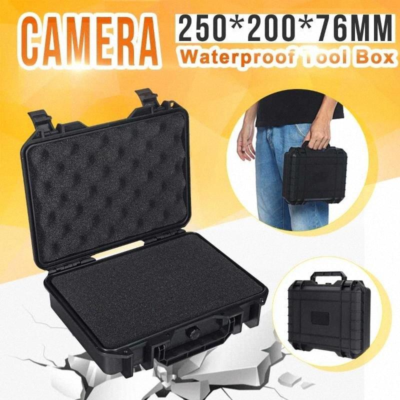 MG6235 Защитной безопасность Инструмент Инструмент Box водонепроницаемых противоударное хранение Toolbox Sealed Кейс для инструментов Ударопрочного Чемодан # 682 млн