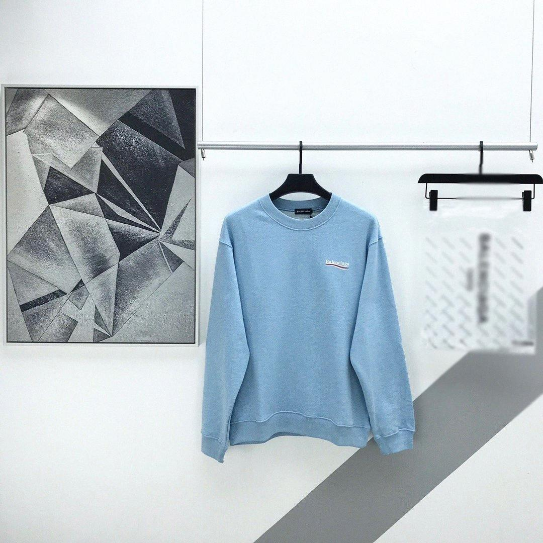 2020ss primavera y el nuevo algodón de alto grado del verano impresión de manga corta ronda panel de cuello de la camiseta Tamaño: M-L-XL-XXL-XXXL Color: negro blanco 9Zvy #
