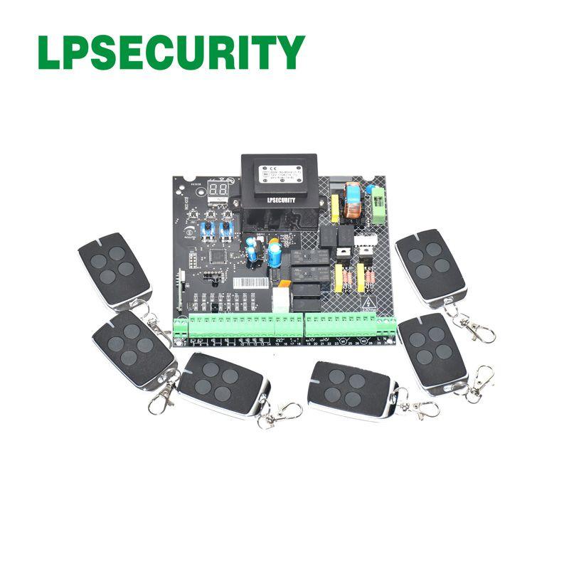 220VAC automática balanço portão abridor AC controle motor controlador PCB unidade de placa de circuito cartão eletrônico