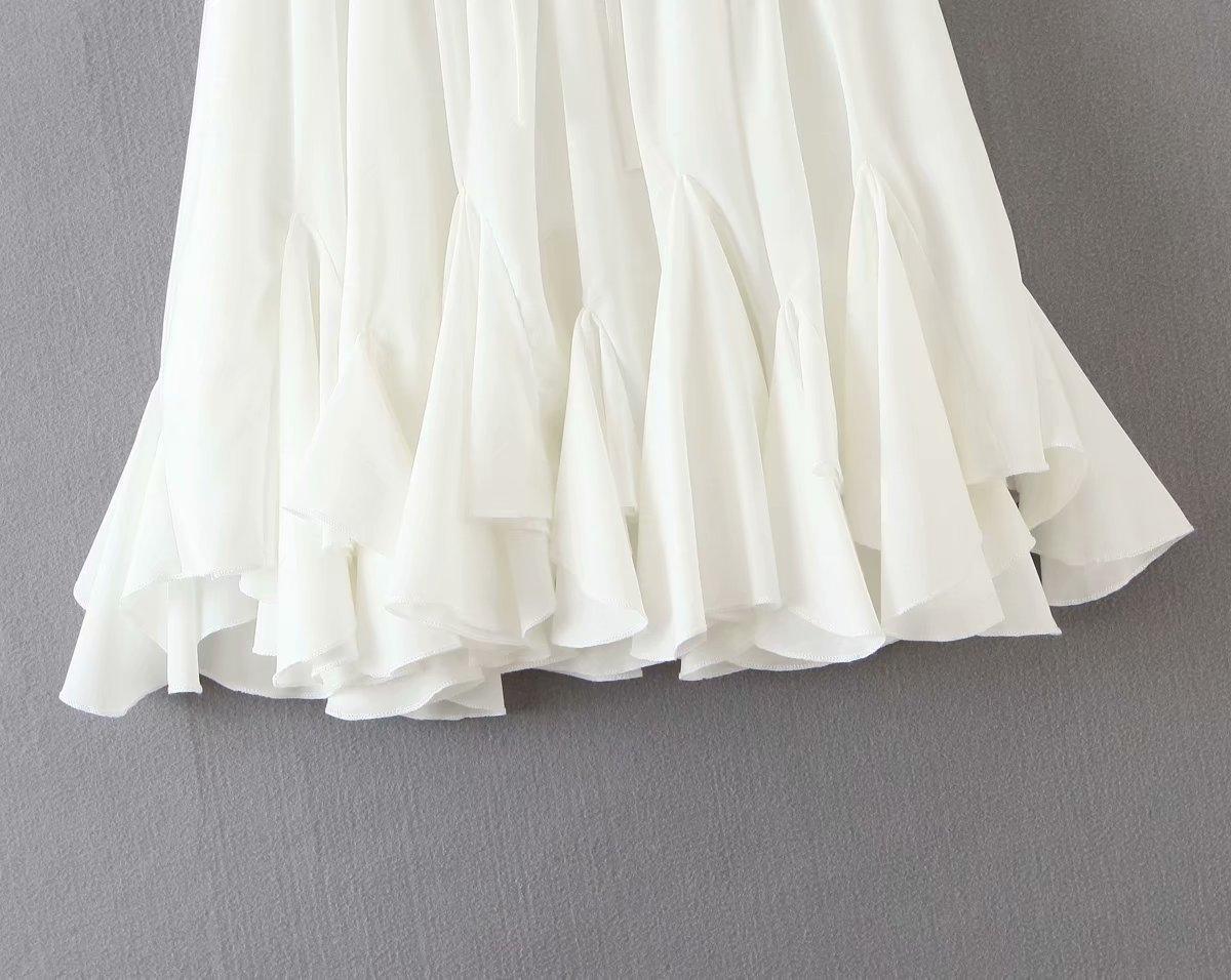 WwLL2 2020 été nouvelle ceinture arc jupe plissée plissé papillon classique élastique jupe K7-0395