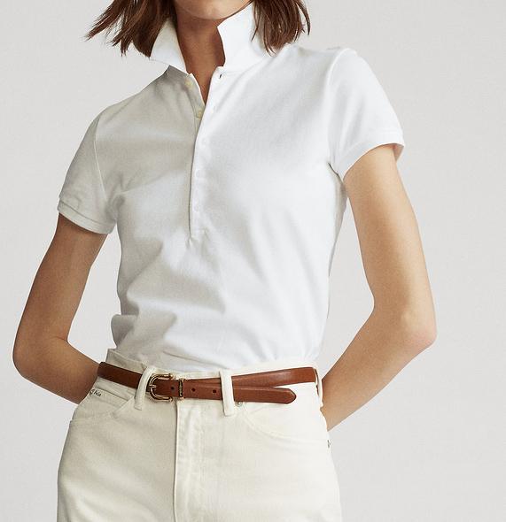Tasarımcı Kadınlar Polo Gömlek Nakış atı tarzı Kadınlar Yaz Yumuşak Nefes Pamuk Polo Gömlek 2020 Yeni Geliş 6 Renkler Boyut S-XL