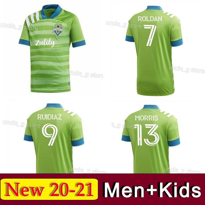 2020 2020 2021 Top MLS Seattle Sounders FC Soccer Jersey ...
