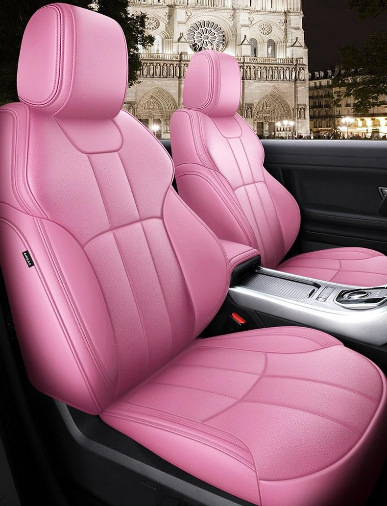 Custom Fit Car Accessories Seat Covers Specific For 5 seater Full set seat Cushion Mat for Sudan SUV Top Quality Leather Covers For Cars 002