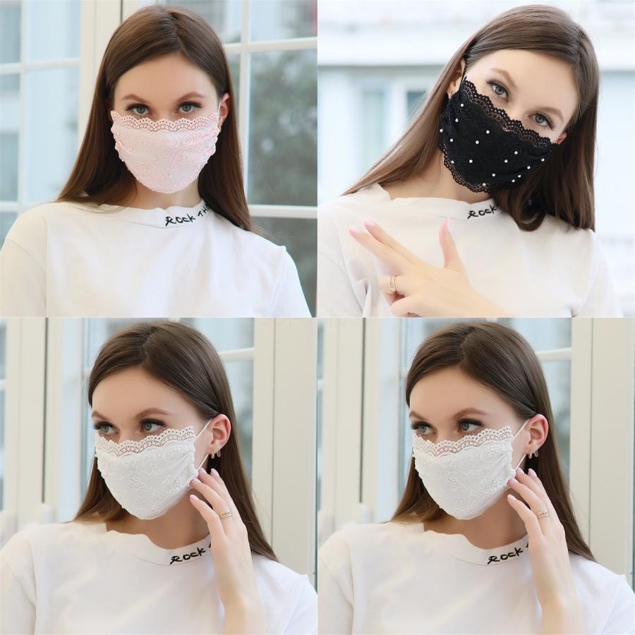 PM2.5 Replaable Mout Baskı Pamuk Wasable Breatable Toz koruyucu Maskeler Karşıtı Kirli Hava PM2.5 Koruyucu # 218 # 733 Maske
