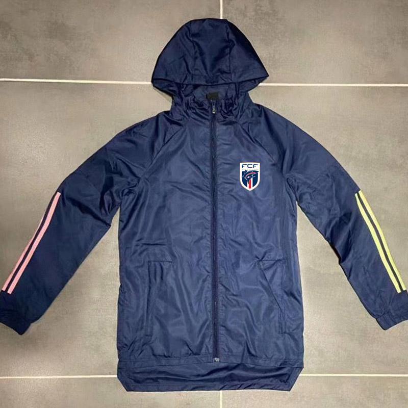 Yetişkin 20 21 Yeşil Burun Hoodie rüzgarlık ceket 2020 2021 Kapüşonlular Sports ceketler Kapşonlu fermuar palto Running Erkekler Ceketler