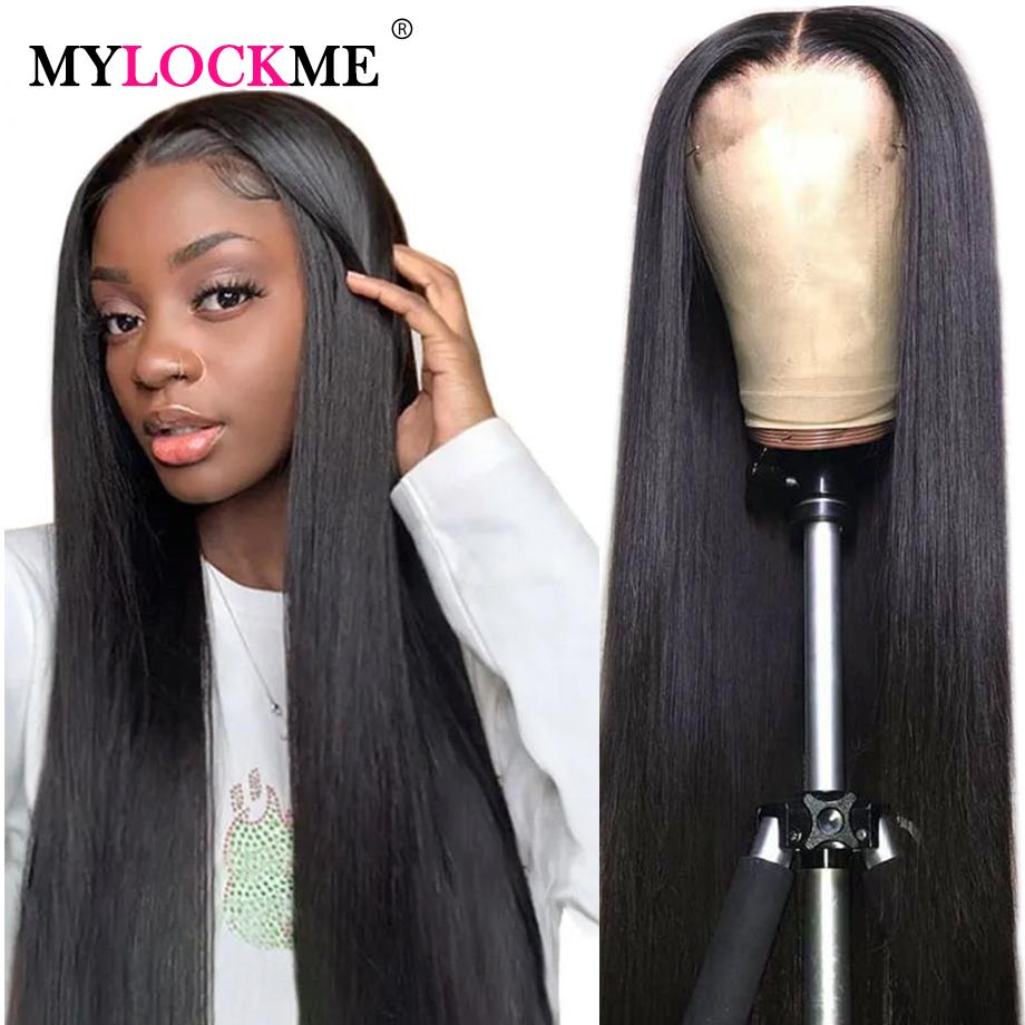 13x4 parte dianteira do laço Humano Perucas 10-30 Inch linha reta do Brasil cabelo Lace perucas de cabelo por Mulheres 360 Lace frontal perucas Remy