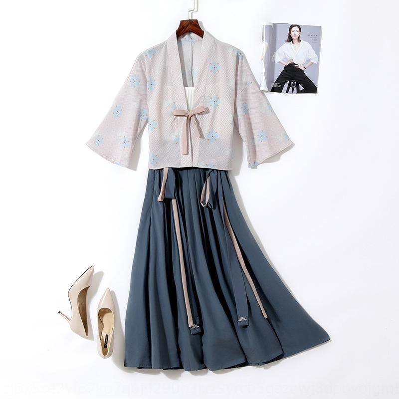 PRNmO ToR91 2020 grande taille élastique Ouest un peu gras soeur vêtements cuir vêtements veste chinoise style taille robe modifiée âge ROUGES