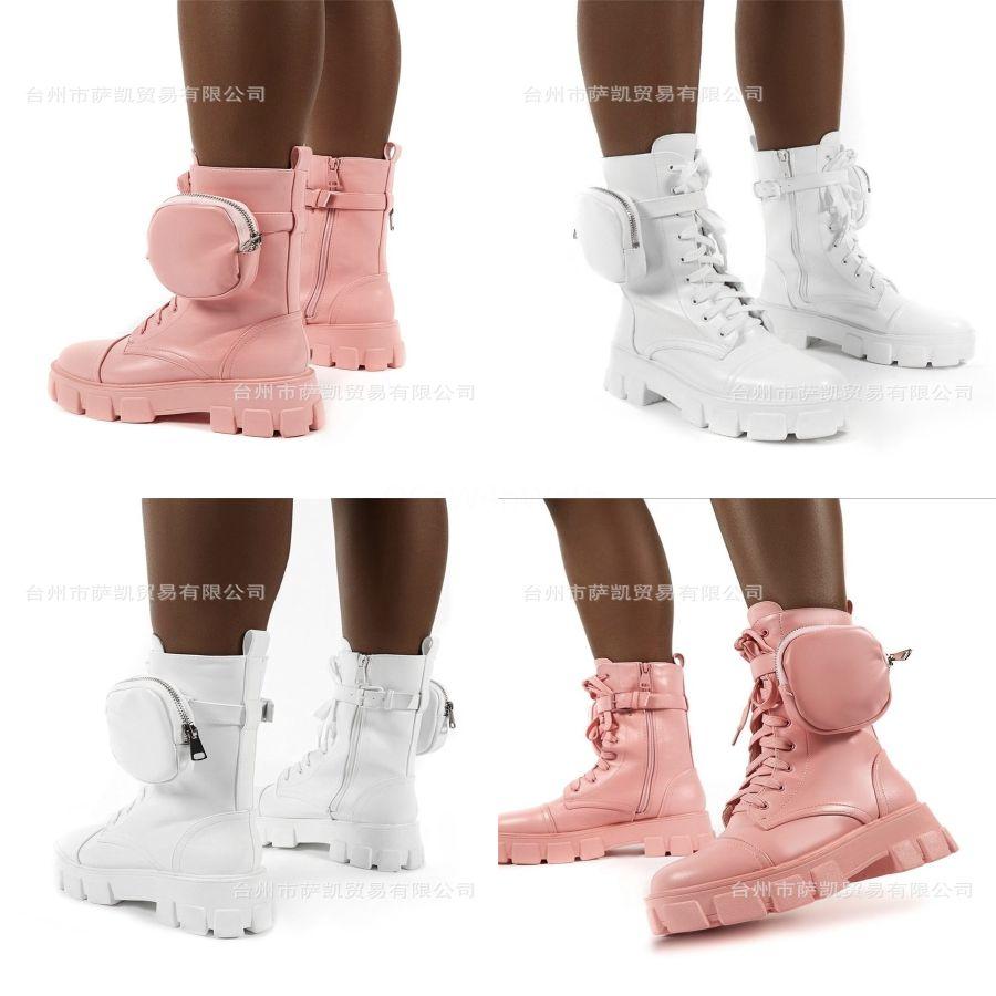 Classics Mode und exquisite Frauen Stiefel High Heels und echtes Leder Im Freien Mode Stiefel Martin Bootie Cowboy Sh10 L2 # 870