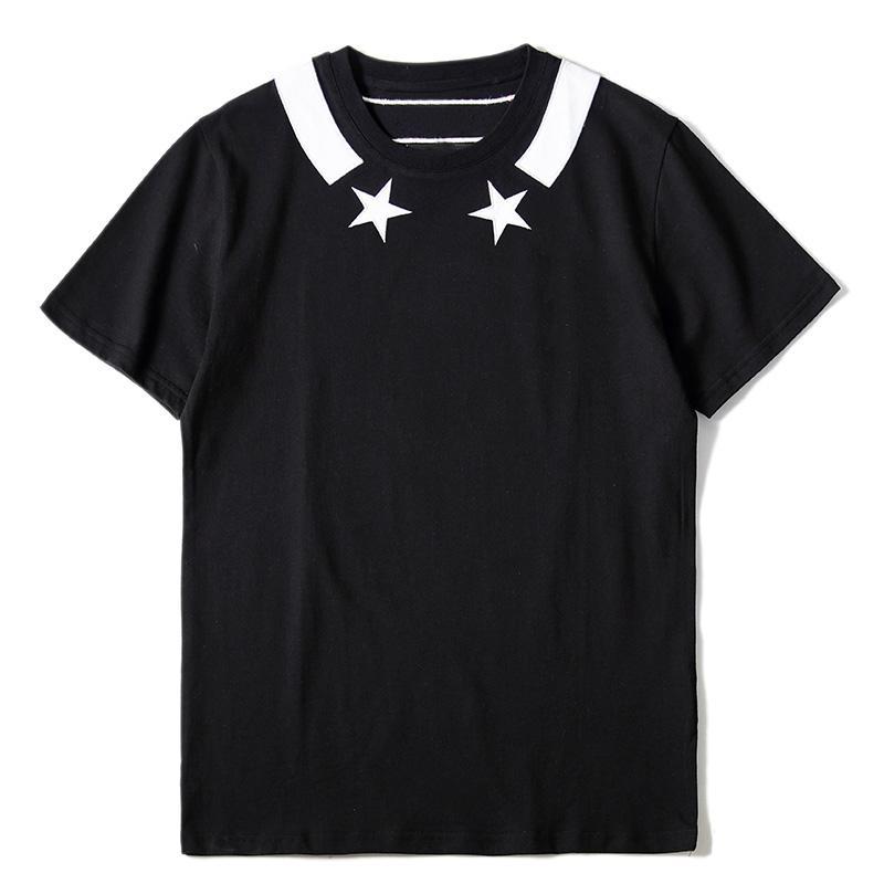 Erkek T Shirt Mens Kadınlar Stilist Tişörtlü Baskılı Bape Erkekler Hip Hop Tee