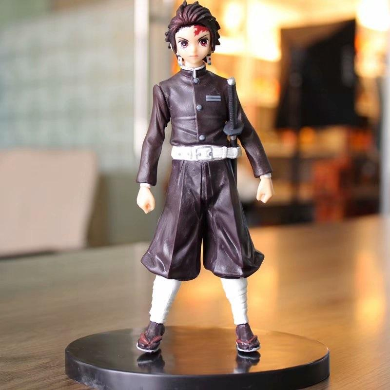 Demonio asesino demonio asesino Figures lindo demonio asesino del modelo de personaje regalo de los niños de decoración de interior de PVC