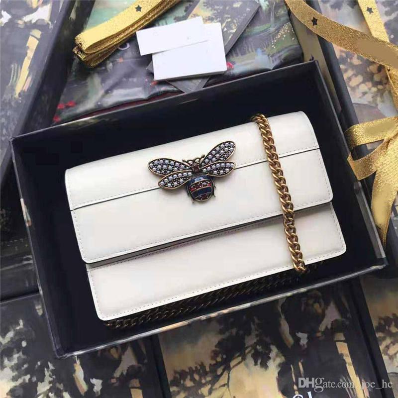 Borse Designer-Donne Borse Bowbags Bowhide Messenger Borse a tracolla BAGS Crossbody Genuine Pelle Top Quality Brand Fashion Designer beidd