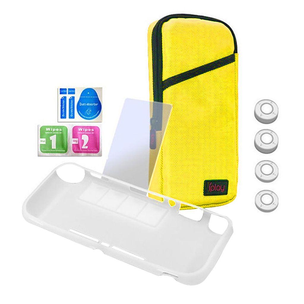 Écran Housse de protection Film TPU Protector Poignées Accessoires pour commutateur Lite
