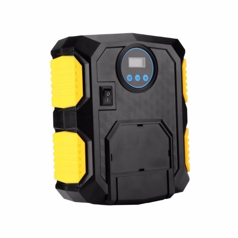 Digital Display 150 PSI Auto Car Tire Inflator 12V Electric Car Air Compressor Pump LED Light Digital Inflatable Pump for cars