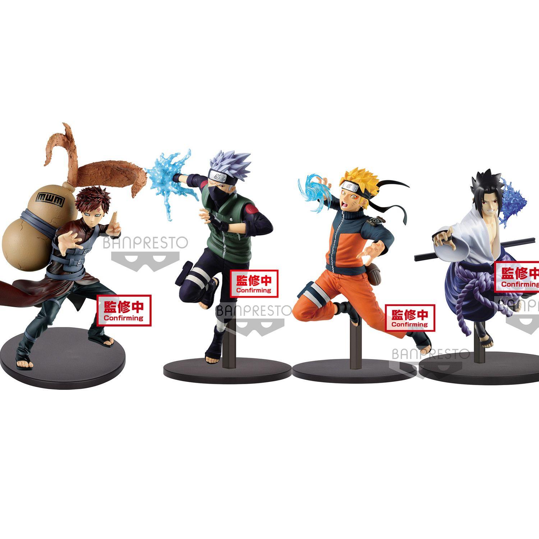 Anime Naruto Shippuuden Rachel Hatake Kakashi Uchiha Sasuke Action Figures Model