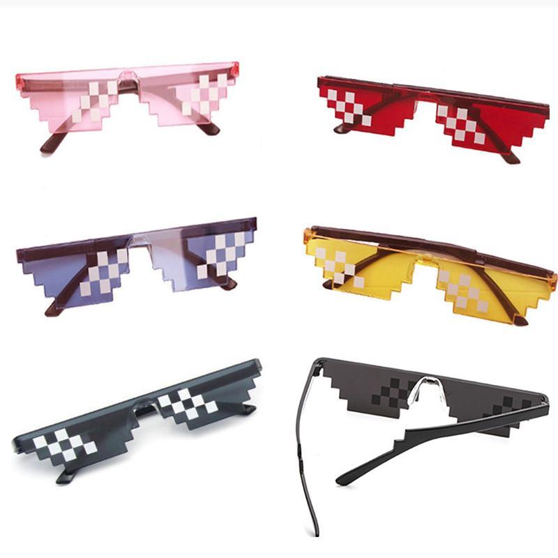 Hot 10 couleur de mode Lunettes de soleil action de jeux pour enfants Jeu Toy Thug Life lunettes avec EVA cas jouets pour enfants cadeaux
