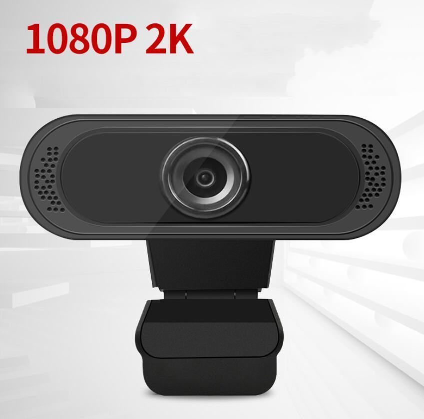 라이브 방송 온라인 비디오 교육을위한 마이크와 2MP 2K 1080P HD의 USB 웹캠 조정 가능한 PC 컴퓨터 노트북 웹 카메라