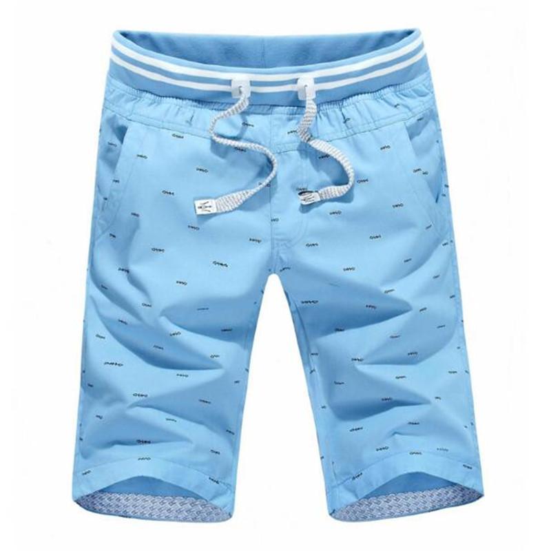ZNG 2020 Verão New Shorts Men Slim Fit Algodão Marca de roupas tamanho L-4XL Shorts Quatro cores MX200815